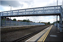 TR3752 : Footbridge, Deal Station by N Chadwick