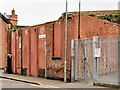 J2664 : Building remains, Lisburn by Albert Bridge