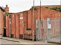 J2664 : Building remains, Lisburn by Albert Bridge