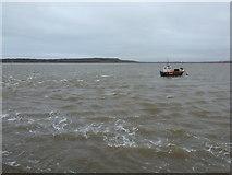 SZ1891 : Mudeford: choppy water on Christchurch Harbour by Chris Downer