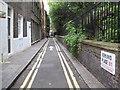TQ2881 : Marylebone: Ashland Place, W1 (formerly Burying Ground Passage) by Nigel Cox