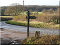 SP8404 : Road to the north of Buckmoorend by Peter S