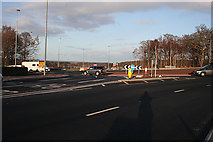 NJ3558 : Roundabouts Rule OK! by Anne Burgess