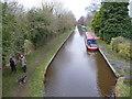 SJ4333 : Lyneal Wharf in December by Jeremy Bolwell