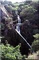 SH5759 : Rhaeadr Llanberis Waterfall  c1976 by Tom Morrison