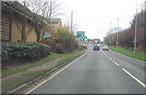 SO9568 : A38 south towards Buntsford Hill roundabout by John Firth