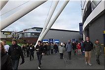 SD6409 : Boxing Day at the Reebok Stadium by Jim Barton