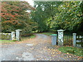 NX5855 : The entrance to Anwoth House by Ann Cook