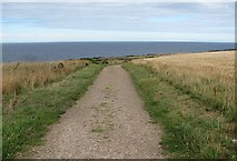NJ4768 : Coast path, Banffshire by Richard Webb