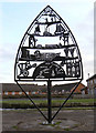 SE6231 : Canalside sculpture by Alan Murray-Rust