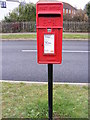 TM2245 : Grange Farm Postbox by Adrian Cable
