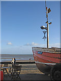 TA1280 : Filey Bay from Coble Landing by Pauline E