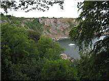 SX9364 : Anstey's Cove by Philip Halling