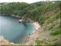 SX9364 : Redgate Beach by Philip Halling