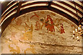 TQ5529 : Doom wall painting, St Denys' church, Rotherfield by Julian P Guffogg