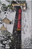 SX9265 : Torquay : Babbacombe Model Village - Train Station by Lewis Clarke