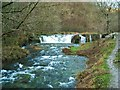 SK1865 : Waterfall on River Lathkill by Antony Dixon