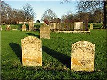 TF8825 : St Mary's churchyard, East Raynham by Evelyn Simak