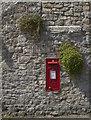 ST0167 : George VI Post Box, Gileston Village by Guy Butler-Madden