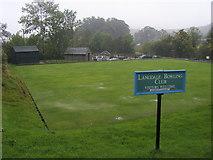 NY3204 : Langdale Bowling Club by Shaun Ferguson
