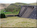SN8763 : Claerwen Dam, Elan Valley, Mid-Wales by Christine Matthews