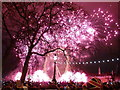 TQ3079 : London: New Year fireworks (7) by Chris Downer
