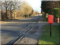 SE6120 : The old Snaith Road, Pollington by Alan Murray-Rust