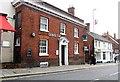 TQ4721 : LloydsTSB bank, High Street, Uckfield by nick macneill