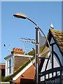 TQ2636 : Modern street light in Crawley, West Sussex by Roger  Kidd