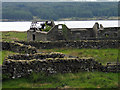 NN4282 : Ruined farm buildings at Moy by Trevor Littlewood