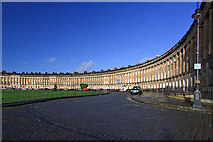 ST7465 : Royal Crescent - Bath (3) by Mike Searle