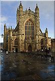 ST7564 : Bath Abbey by Mike Searle