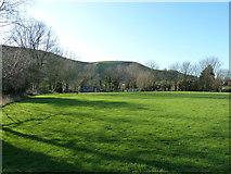 TQ2411 : Fulking village playground by Dave Spicer