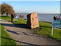 SO6401 : Viewing area, Lydney Harbour by Jaggery