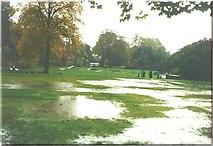 SK0573 : Pavilion Gardens, Buxton in 1987 by John Baker
