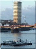 TQ3078 : Vauxhall Bridge from Riverside Walk SW11 by Robin Sones