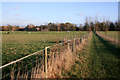 SU5892 : Diverted Footpath by North Farm by Des Blenkinsopp