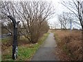 SE6238 : NCN milepost by DS Pugh