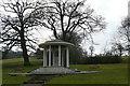 SU9972 : Magna Carta memorial by Graham Horn