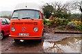 TQ4807 : VW Camper, Middle Farm, Firle by nick macneill
