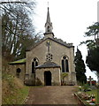 SO8707 : Front view of Grade II listed Church of the Holy Trinity, Slad by Jaggery