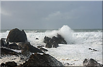 SS2006 : Breaking waves at Compass Point by Bob Jones