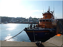HU4741 : Lerwick: lifeboat and harbour by Chris Downer
