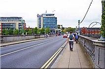 R5757 : Sarsfield Bridge, Limerick by P L Chadwick