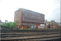 TQ3379 : Offices by the railway line by N Chadwick