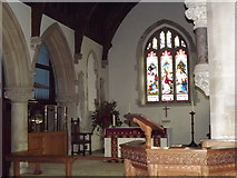 SU8441 : Frensham Church by Colin Smith