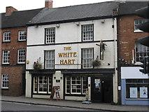 SK3516 : Ashby de la Zouch White Hart Pub by the bitterman