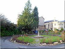 ST8558 : SE corner of Trowbridge United Church grounds by Jaggery