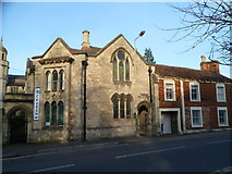 ST8558 : Grade II listed former Tabernacle Sunday School, Trowbridge by Jaggery