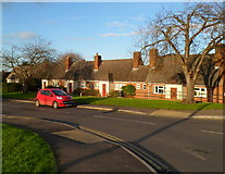 ST8558 : Melton Road bungalows, Trowbridge by Jaggery
